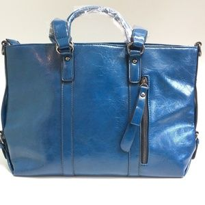Handbags - New Blue tote bag shoulder crossbody purse Large